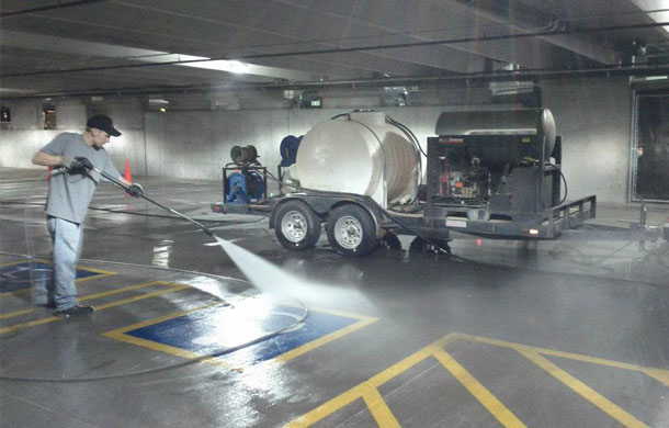 Great Parking Garage Cleaner